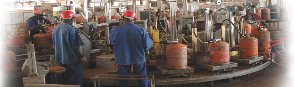 Des Installations d\'emplissage de bouteilles de gaz modernes et performantes