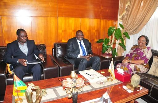 entretien  avec le Médiateur du Faso